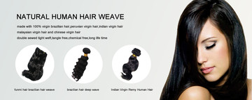 Different type of Virgin Hair Weaves
