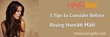 5 Tips to Consider Before Buying Human Hair Weave