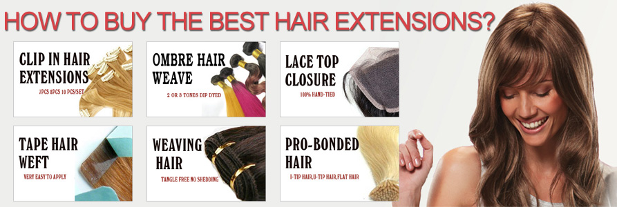 How To Shop Human Hair Extensions Online