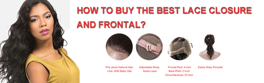 How To Buy Human Hair Lace Closure And Frontal