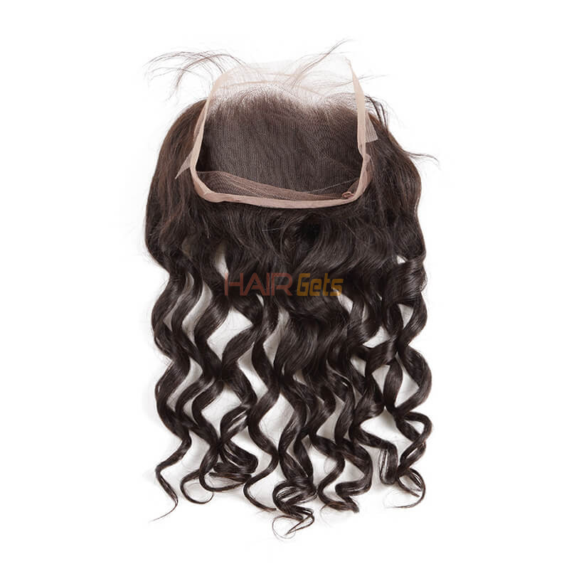 Loose Wave 360 Lace Frontal Made by Real Virgin Hair On Sale 8A 0