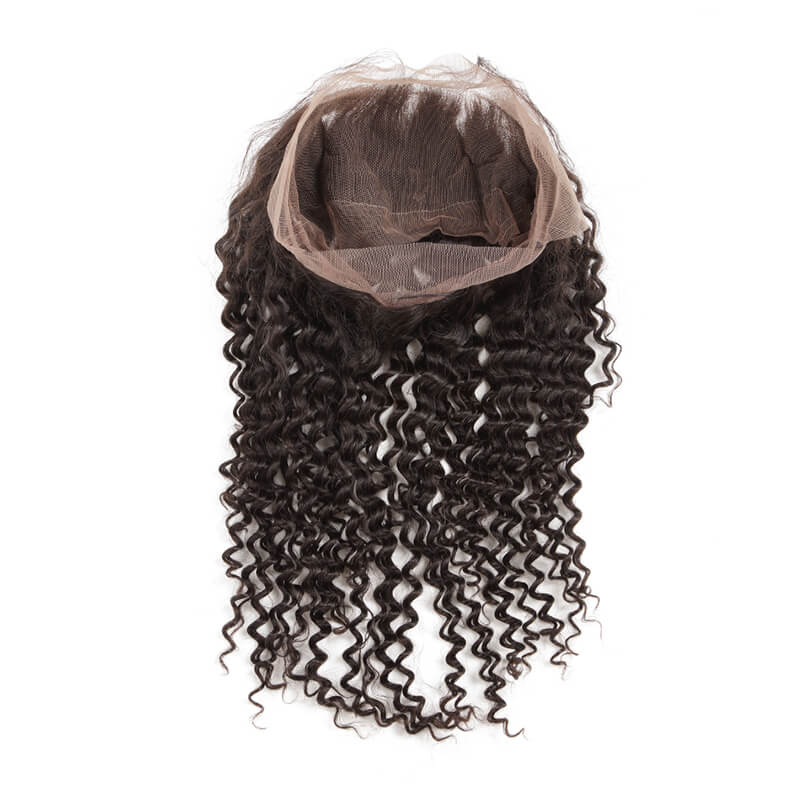 Best Selling Deep Wave Virgin Human Hair 360 Lace Frontal For Women 360lf004 1