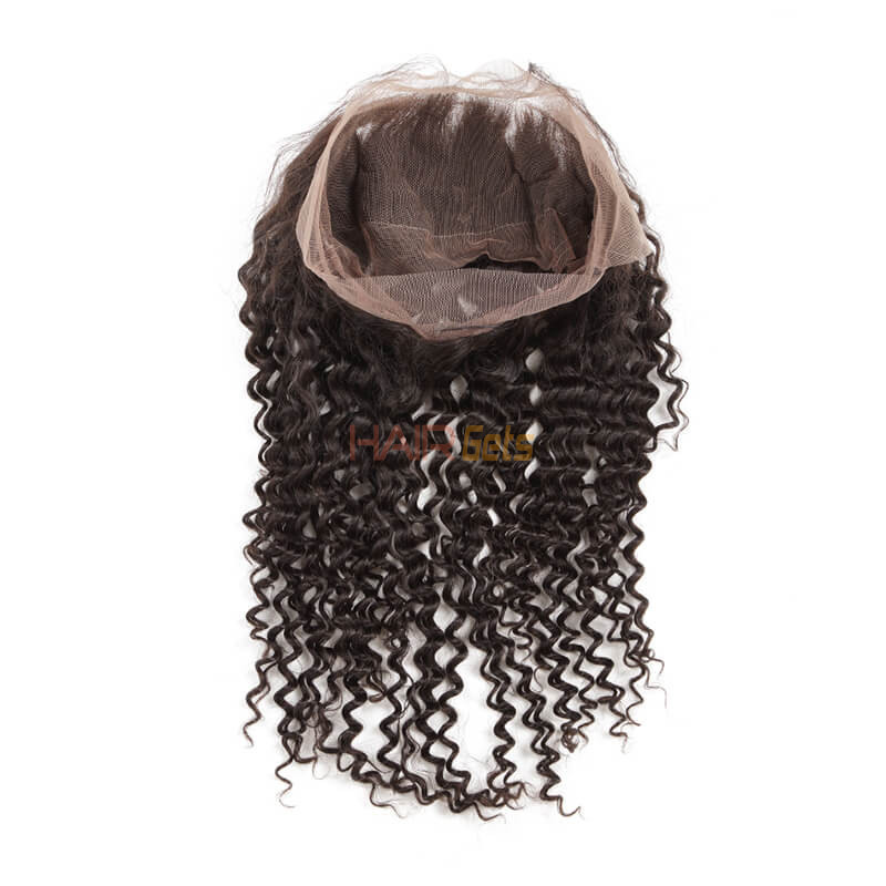 Best Selling Deep Wave Virgin Human Hair 360 Lace Frontal For Women 1