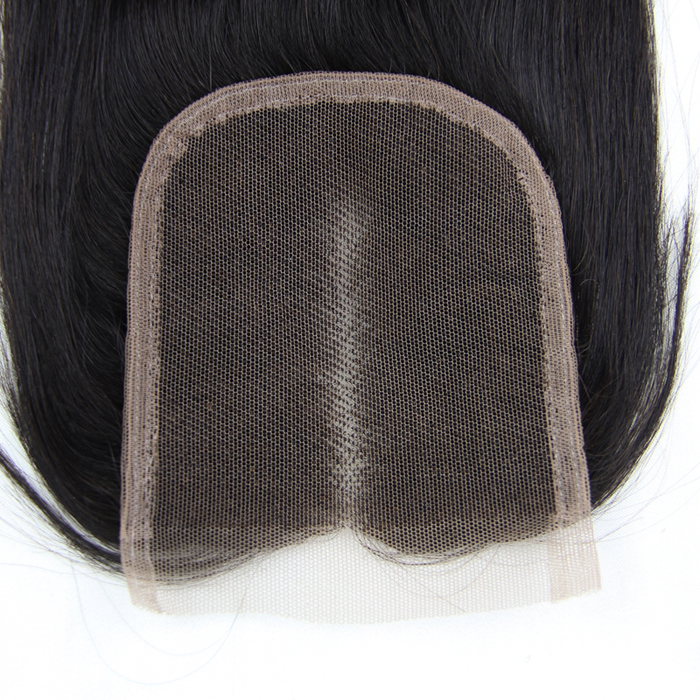Hot sale Virgin Straight Hair 4x4 Lace Closure Back lc001 1