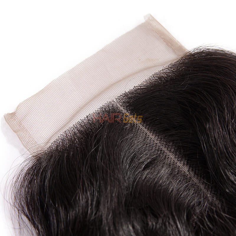 Smooth Virgin Hair Lace Closure,4*4 Loose Curly Closure For Women 2