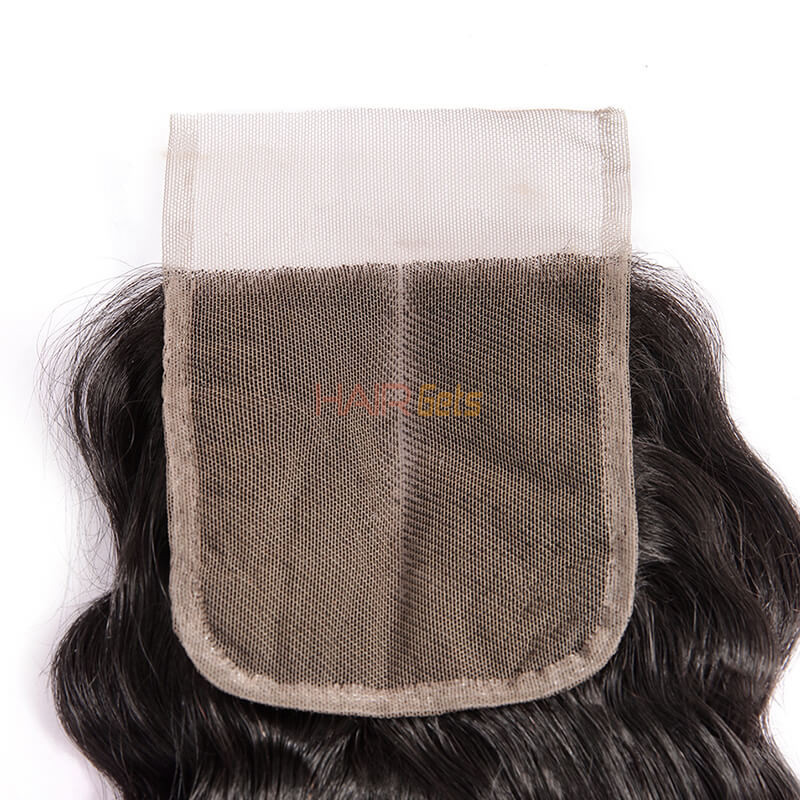 Smooth Virgin Hair Lace Closure,4*4 Loose Curly Closure For Women 3