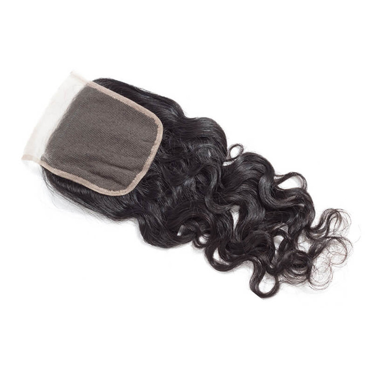 Hot Virgin Hair Natural Wave Lace Closure 4*4 Deals, 12-26 Inch lc009 0