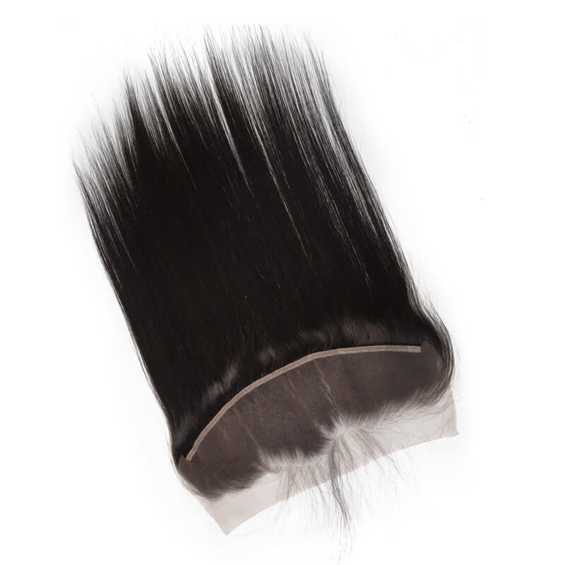 Silky Straight Lace Frontal Made by Real Virgin Hair On Sale 8A lf001 1