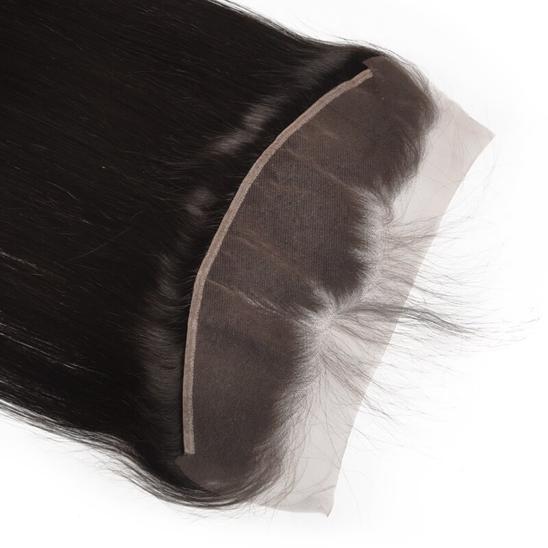 Silky Straight Lace Frontal Made by Real Virgin Hair On Sale 8A lf001 2