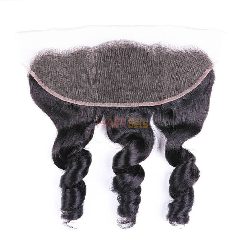 Best Selling 13x4 Loose Wave Virgin Human Hair Lace Frontal For Women 0