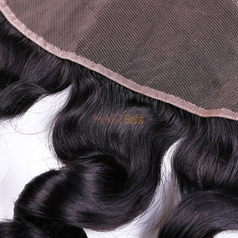 Best Selling 13x4 Loose Wave Virgin Human Hair Lace Frontal For Women 1
