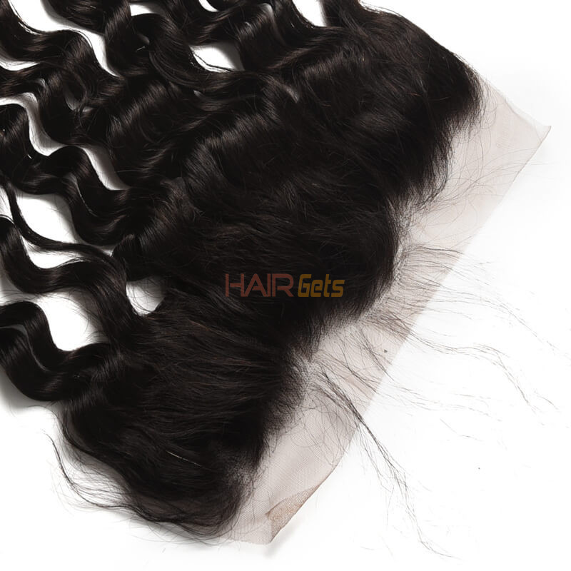 Human Hair 13*4 Loose Curly Lace Frontal, Smooth & Shiny 8-28 Inches 2