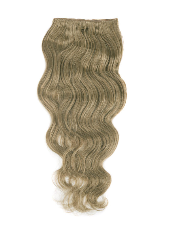 Light Golden Brown(#12) Ultimate Body Wave Clip In Remy Hair Extensions 9 Pieces-np cih057 2