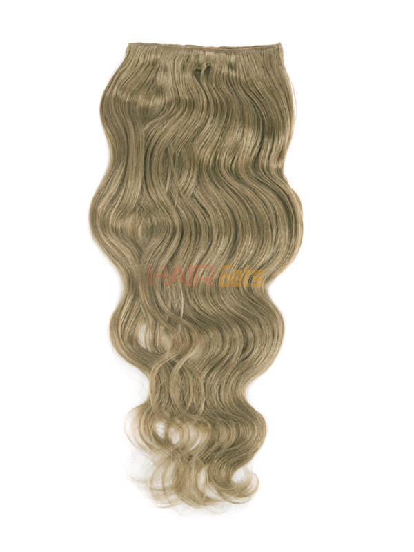 Light Golden Brown(#12) Ultimate Body Wave Clip In Remy Hair Extensions 9 Pieces-np 2