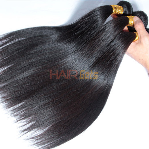 2 Pcs 8A Brazilian Virgin Hair Bundles Silky Straight 0
