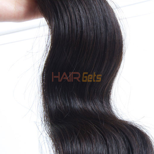 1 pcs Body Wave 8A Virgin Brazilian Hair Natural Black 2