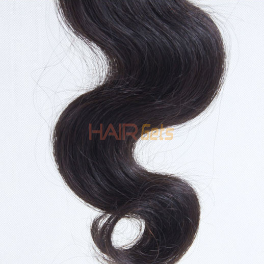 1 pcs Body Wave 8A Virgin Brazilian Hair Natural Black 3