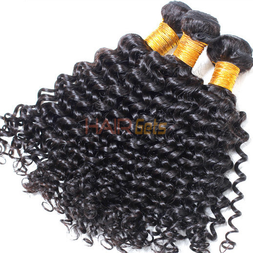 2 Bundle Deep Wave Natural Black 8A Brazilian Virgin Hair Weave 0