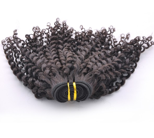 7A Virgin Indian Hair Extensions Kinky Curl Natural Black ihw014 2