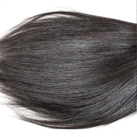 3pcs 7A Indian Virgin Hair Weave Silky Straight Natural Black ihw003 0