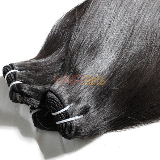 3pcs 7A Indian Virgin Hair Weave Silky Straight Natural Black 1