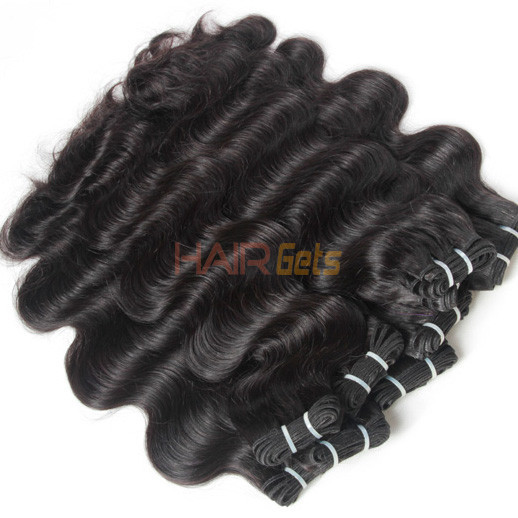 3pcs 7A Indian Virgin Hair Weave Body Wave Natural Black 1