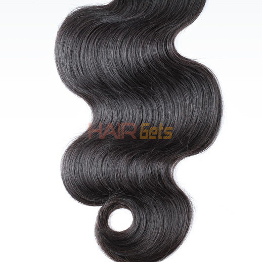 1 bundle 7A Malaysian Virgin Hair Weave Body Wave Natural Black 1
