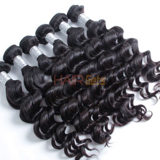 1pcs 7A Peruvian Virgin Hair Natural Wave inch Natural Color Price 1