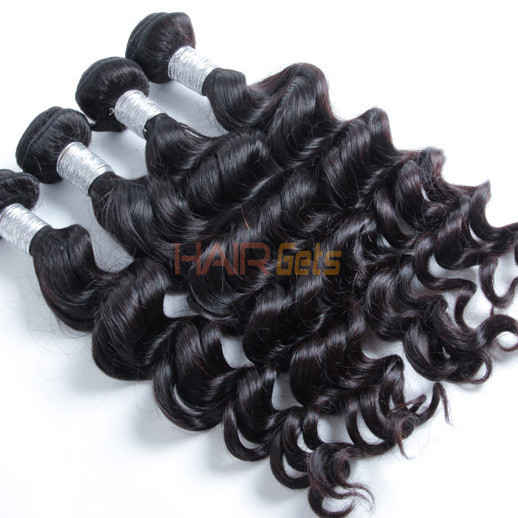 1pcs 7A Peruvian Virgin Hair Natural Wave inch Natural Color Price 2