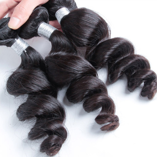 Loose Wave Peruvian Virgin Hair Weave