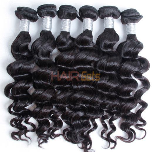 3 bundles 7A Peruvian Virgin Hair Natural Wave Natural Black Price 0