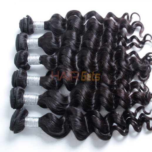 3 bundles 7A Peruvian Virgin Hair Natural Wave Natural Black Price 1