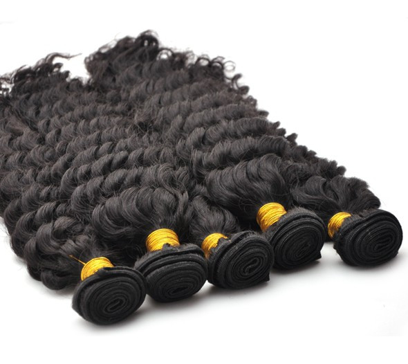 7A Virgin Thailand Hair Weave Water Wave Natural Black thw006 0