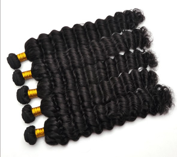 7A Virgin Thailand Hair Weave Water Wave Natural Black thw006 3