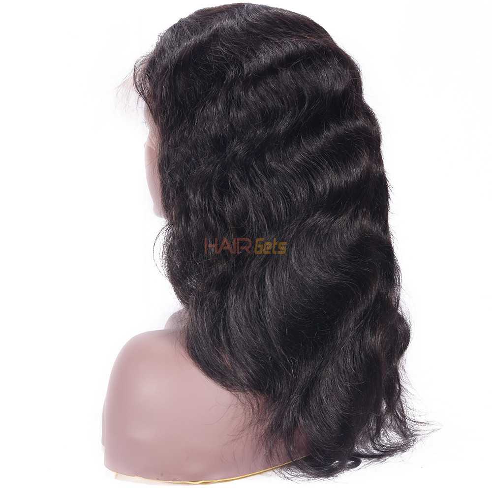 Natural Wave 360 Lace Frontal Wig, 8-26 inch Beautiful & Bouncy Wigs 1