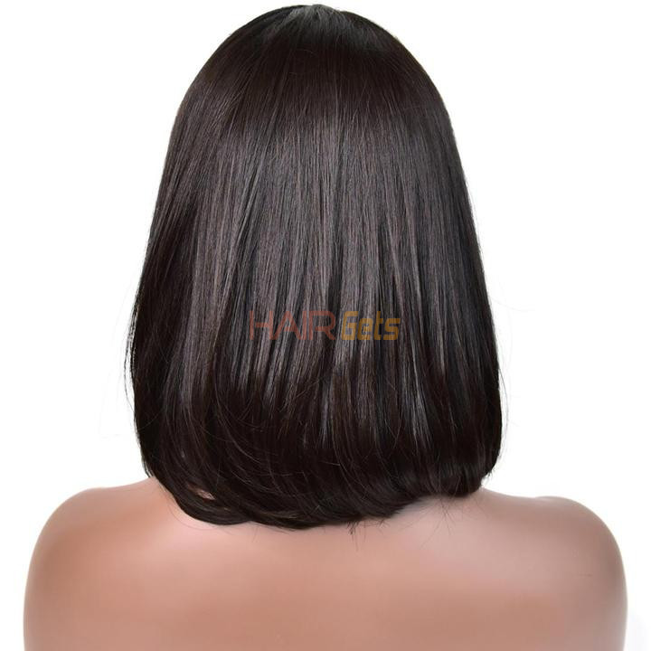 360 Lace Frontal Straight Bob Wigs 10 inch-30 inch, Real Human Hair Wig 2