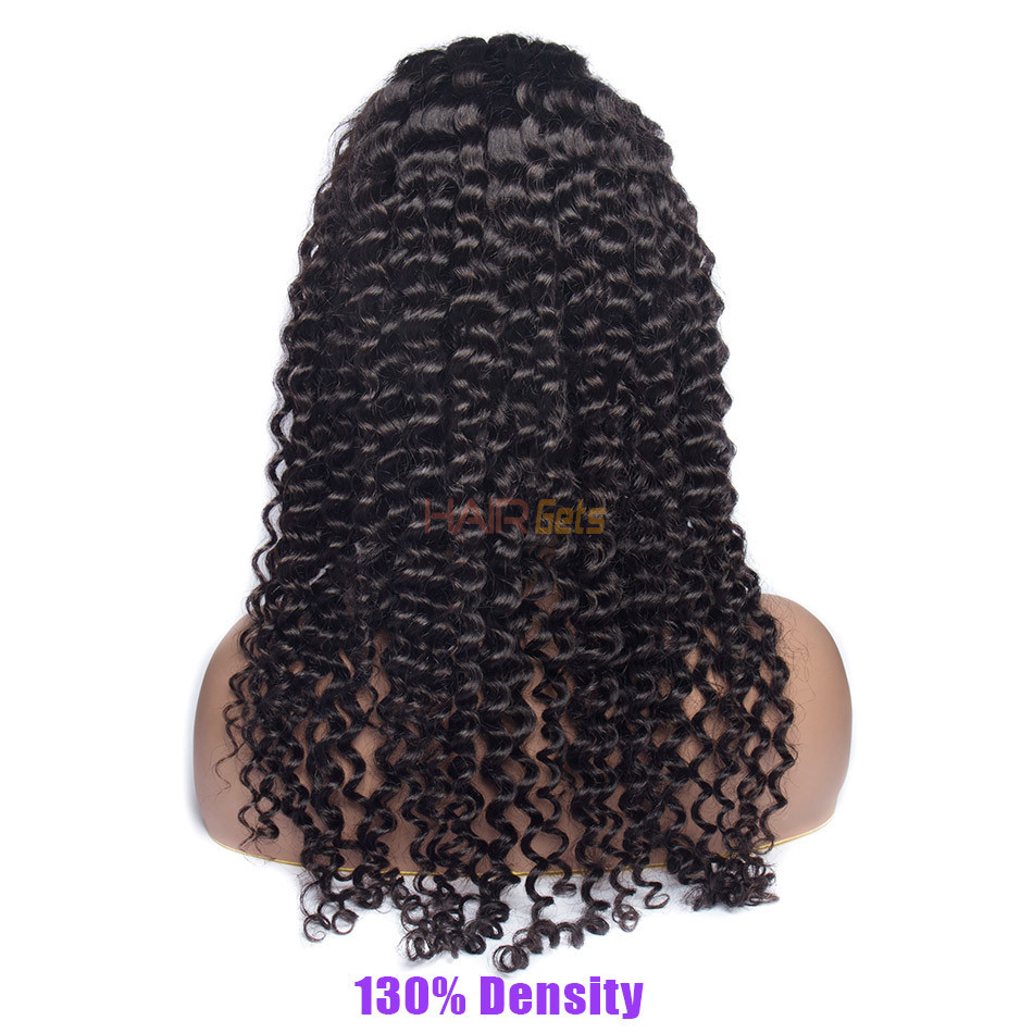 Loose Curly 360 Lace Frontal Wigs, Human Hair Wigs With Discount 12-28 Inch 1