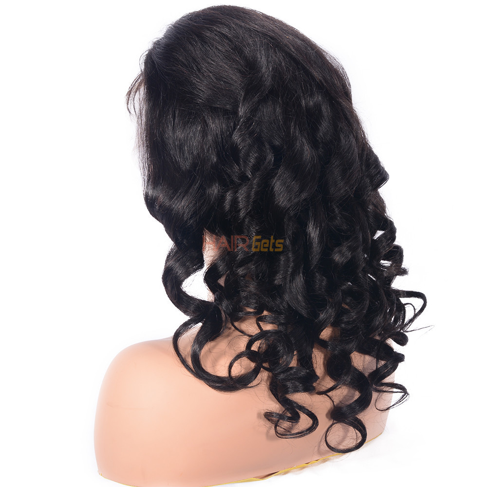 Best Quality Loose Wave 360 Lace Frontal Human Hair Wig Soft Like Silk 2