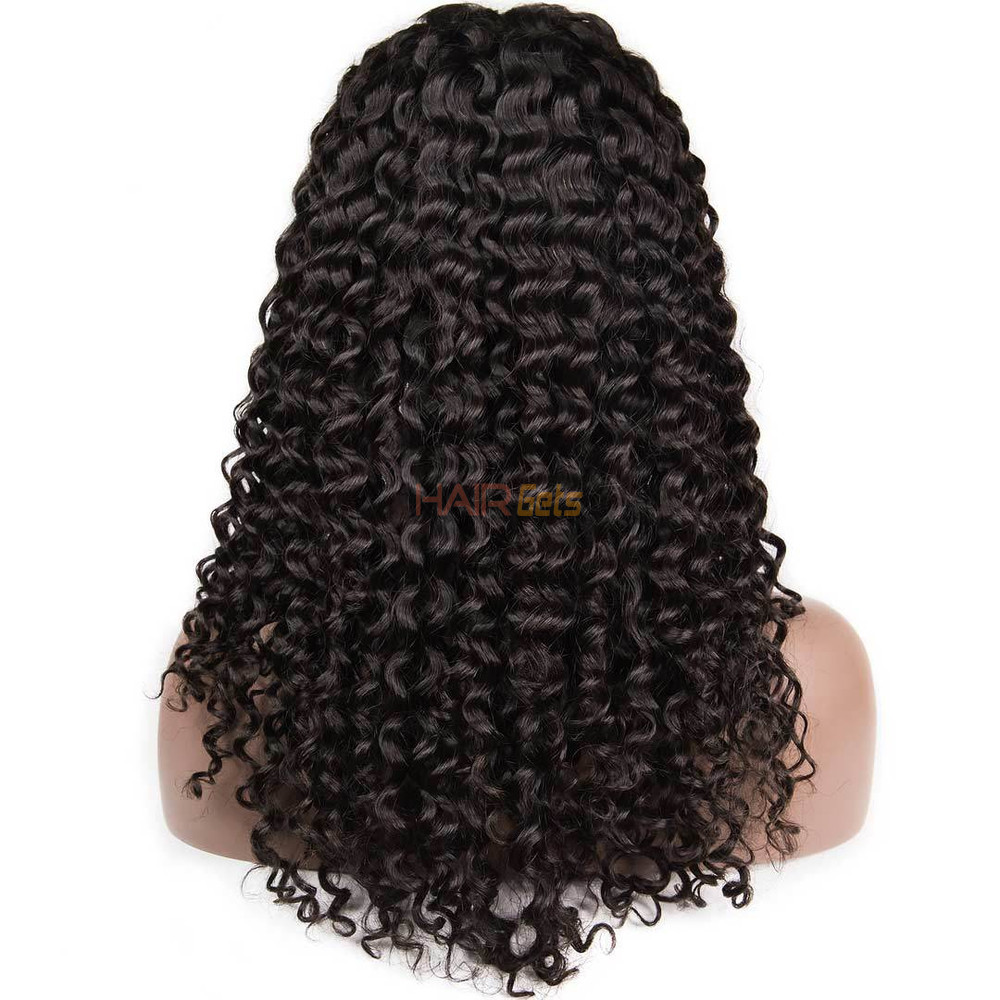 360 Lace Frontal Human Hair Water Wave Wigs, 10-30 Inch  Smooth & Shiny 1