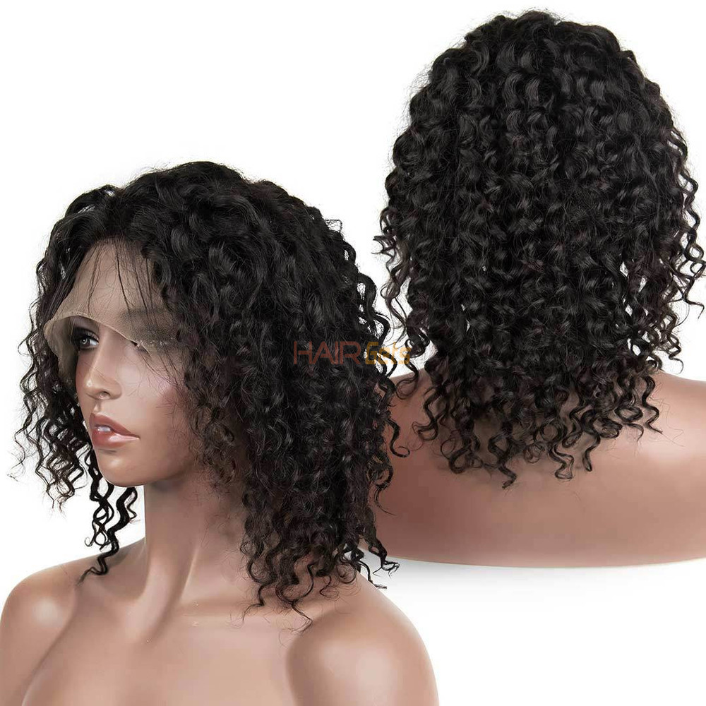 360 Lace Frontal Human Hair Water Wave Wigs, 10-30 Inch  Smooth & Shiny 2