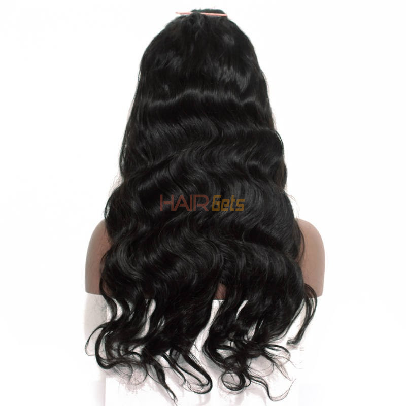Body Wave Full Lace Human Hair Wigs With Baby Hair, 10-30 inch 2