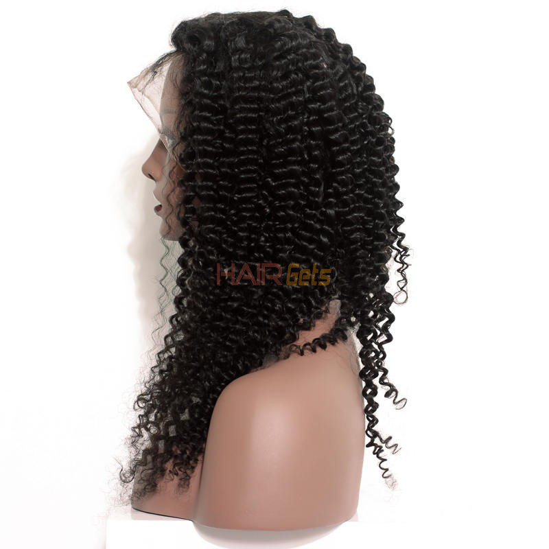 Human Hair Wig, Curly Full Lace Wigs Smooth Like Silk, 14-30 inch 0