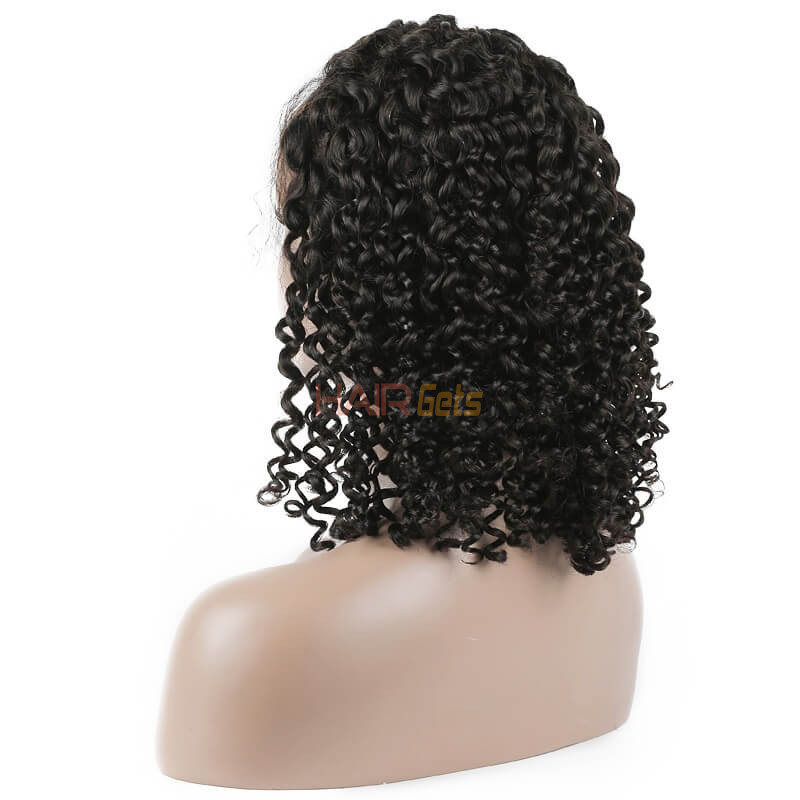 Curly Full Lace Bob Wigs, 100% Virgin Hair Wig On Sale 10-28 inch 2