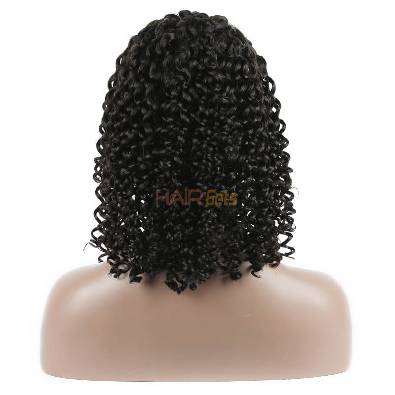 Curly Full Lace Bob Wigs, 100% Virgin Hair Wig On Sale 10-28 inch 3