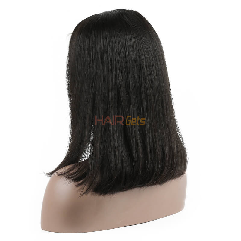 Full Lace Straight Bob Wigs 10 inch-30inch, Real Virgin Hair Wig 2