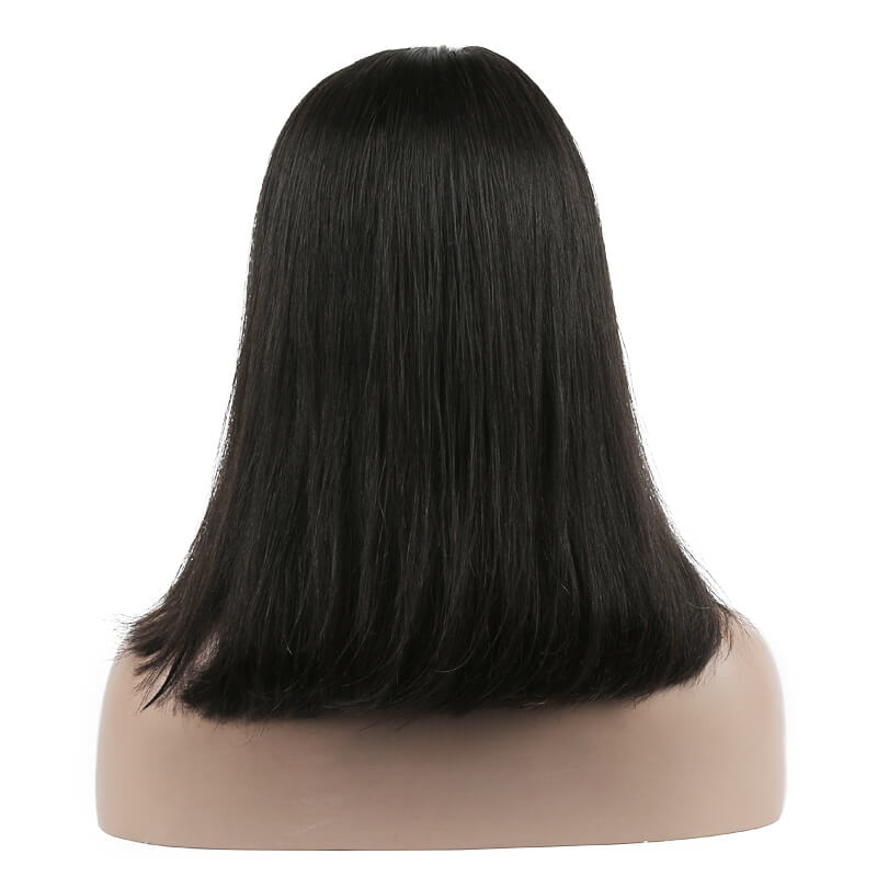 Full Lace Straight Bob Wigs 10 inch-30inch, Real Virgin Hair Wig flw009 3