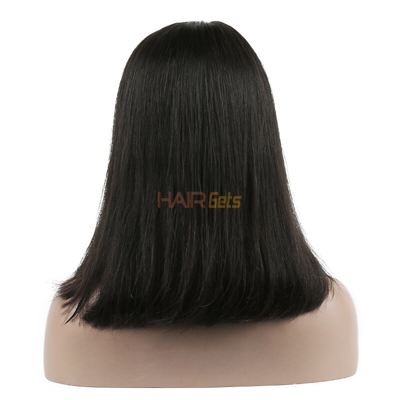 Full Lace Straight Bob Wigs 10 inch-30inch, Real Virgin Hair Wig 3