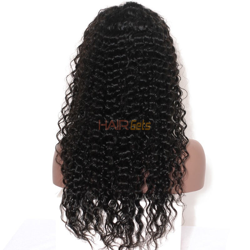 Loose Curly Full Lace Wigs, Human Hair Wigs With Discount 12-30 Inch 2