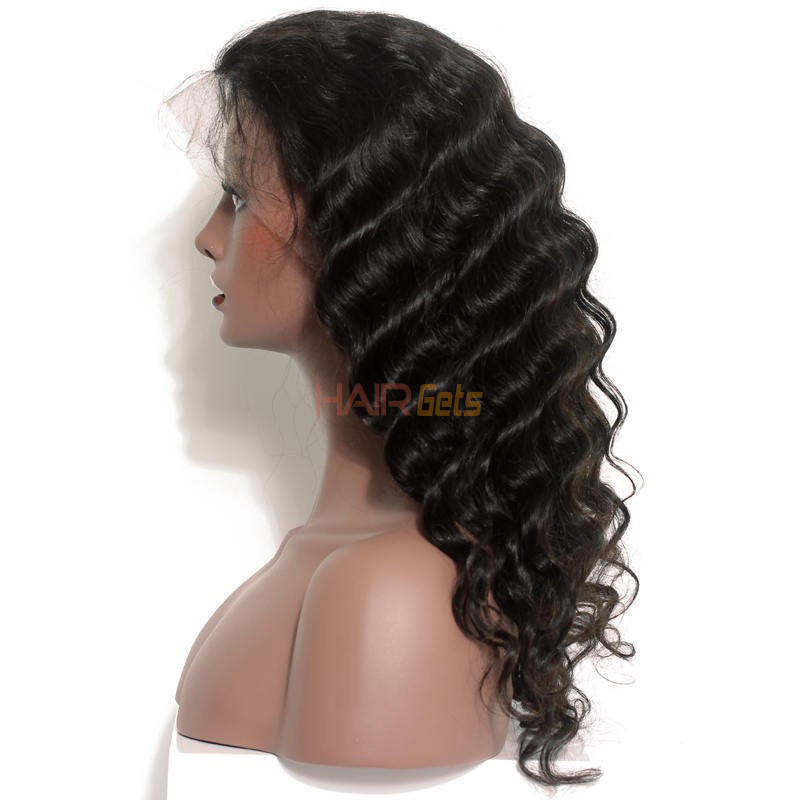 Best Quality Loose Wave Lace Front Human Hair Wig Soft Like Silk 0