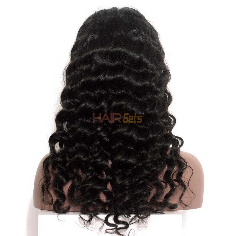 Best Quality Loose Wave Lace Front Human Hair Wig Soft Like Silk 1